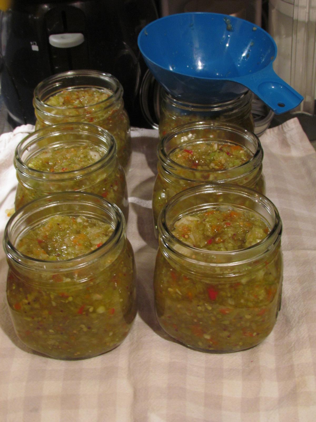 recipe: green tomato pepper jelly [11]